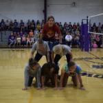 Girls VB pyramid