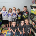 Kindergarten dressed up for twin day