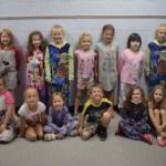First grade dressed in pjs