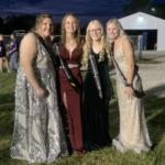Queen canidates Hannah, Calleigh, Lexie, and Abbe